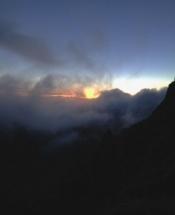 sunrise snowdon
